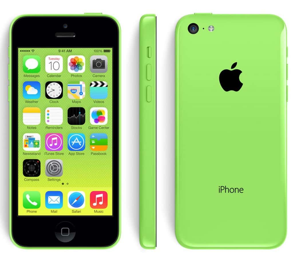 green-iphone5c